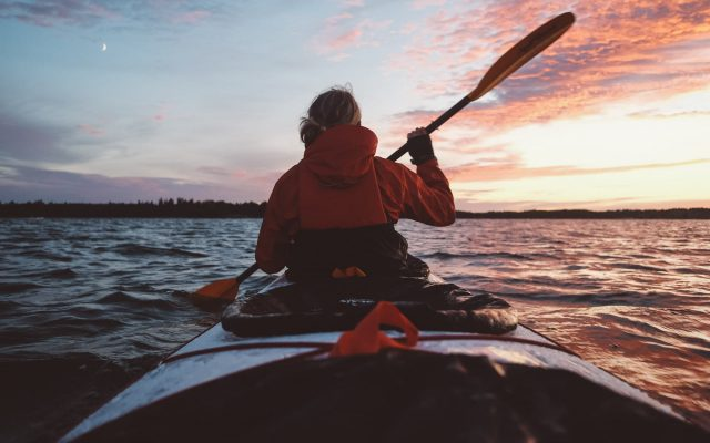 Self-guided kayak expedition, Saint Anna Sweden